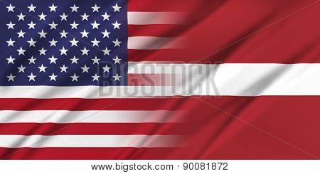 Usa And Latvia.