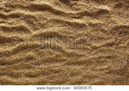 Rough Surface Of The Sand