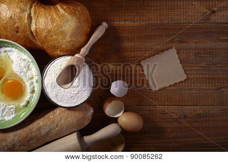 Ingredients And Kitchen Appliances
