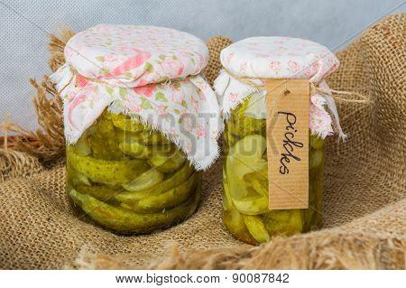 Pickles In A Jar
