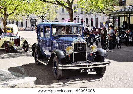 Old Citroen Car From The 1920S