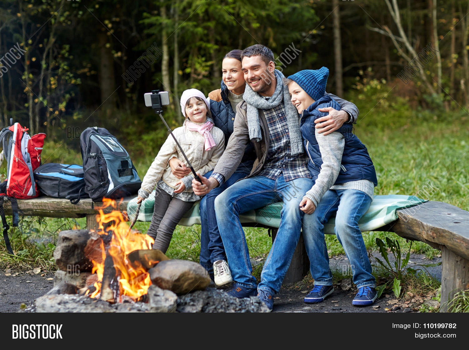 Camping Travel Tourism Hike And People Concept