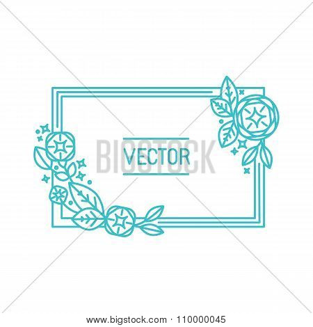 Vector Abstract Frame And Background