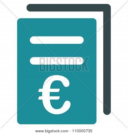 Euro Catalog List Icon
