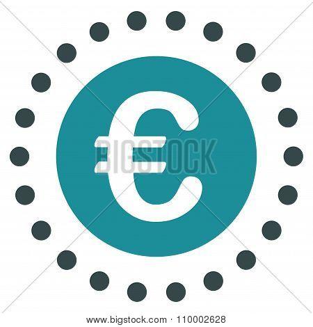 Euro Gold Coin Icon