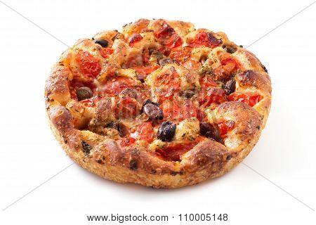 Apulian Focaccia Bread