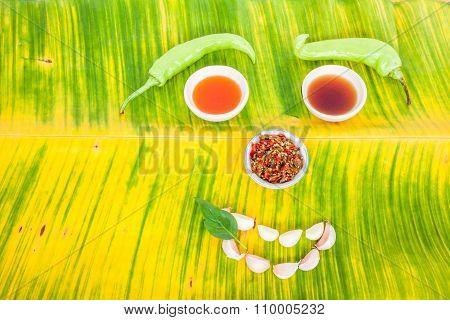 Thai Ingredients In Close Up
