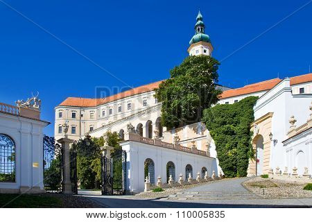 Castle, Town Mikulov, South Moravia, Czech Republic