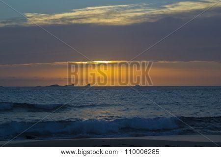 Sunset in Cala Conta, Ibiza