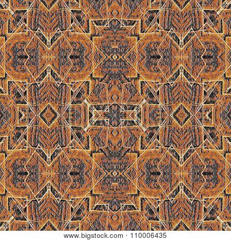 Fabric Ethnic Art Seamless Pattern