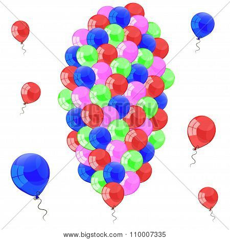 Color Glossy Balloons