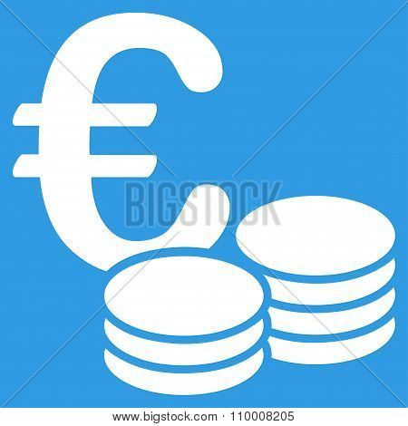 Euro Coin Stacks Icon