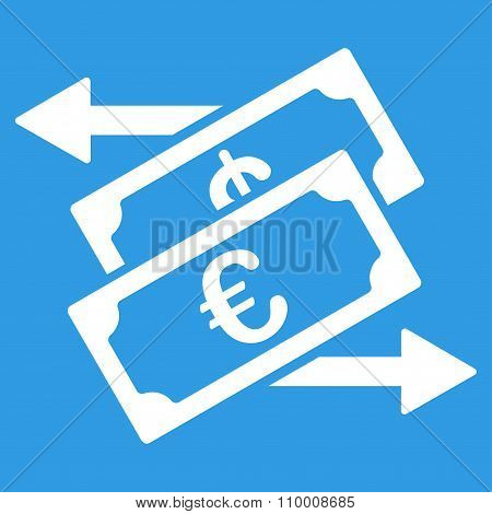 Euro Currency Exchange Icon