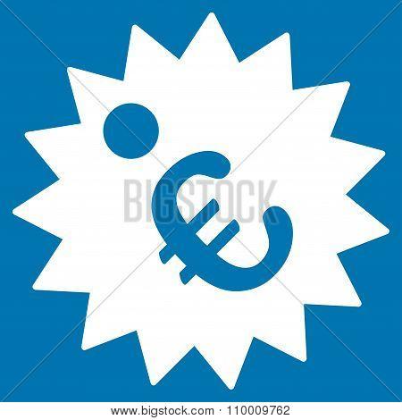 Euro Price Tag Icon