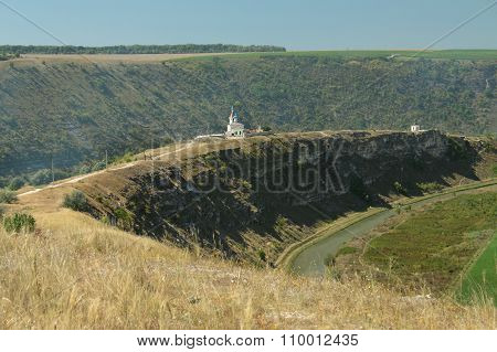 Republic Of Moldova, Orhei Vechi/orheiul Vechi, Raut River, Monastery