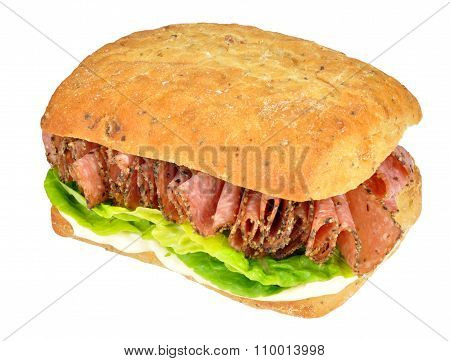 Peppered Salami Sandwich