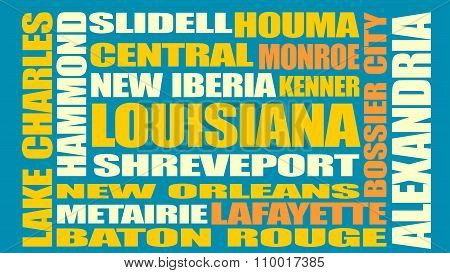 Louisiana State Cities List
