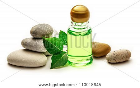 Stones, Leaves And Shampoo Bottles