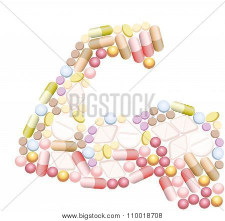 Doping Anabolic Muscle Drugs Pills