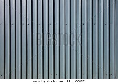 Galvanised steel background