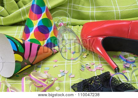 After Party Mess With Intimate Clothing