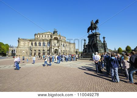 The Opera House, Semperoper, Dresden
