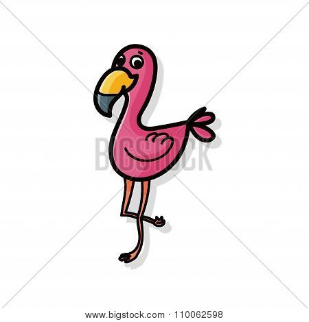Animal Crane Doodle