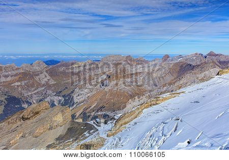 View From Mt. Titlis