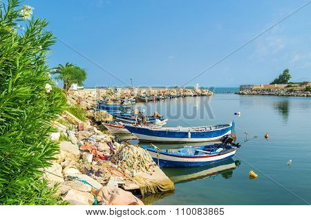 The Port Of Carthage