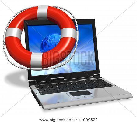 Computer assistance concept