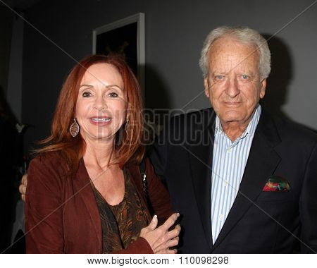 LOS ANGELES - NOV 30:  Jackie Zeman, Nicolas Coster at the Screening Of LANY Entertainment's