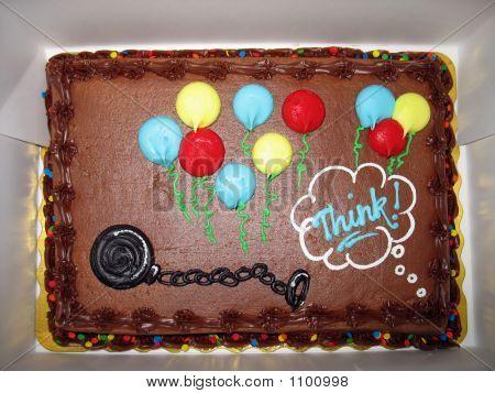 Ball And Chain Cake