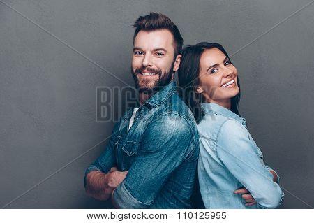Happy Loving Couple.