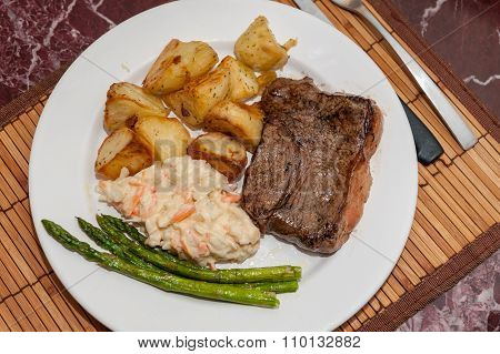 Steak meal