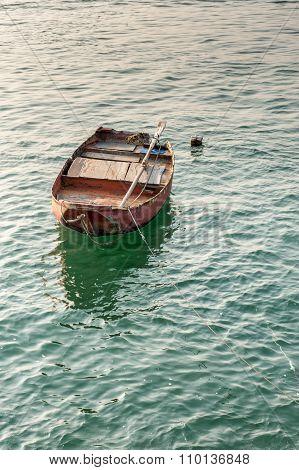 Single rowing boat
