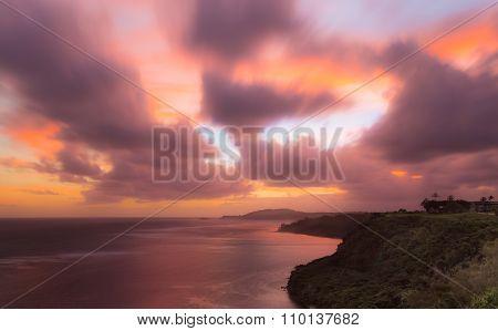 Sunrise To Kilauea Lighthouse In Kauai