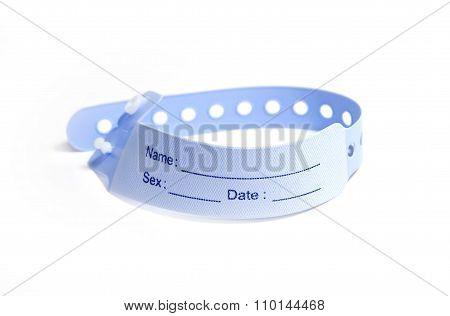 Hospital Wrist Tag
