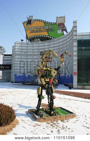 Chuncheon. Museum of Animation. South Korea.