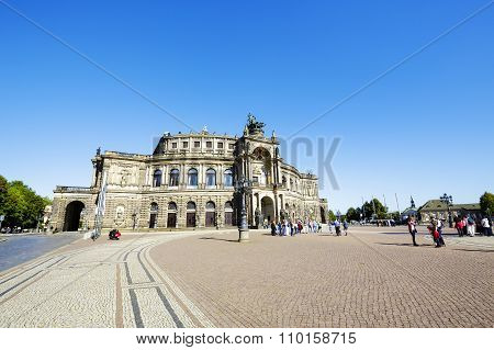 Semperoper, The Opera House, Dresden