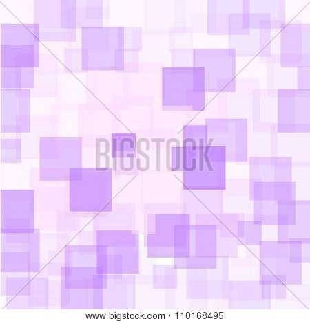 Abstract Purple Squares Background