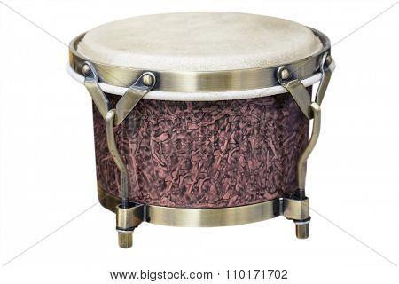 Latin percussion, Bongos isolate on white background
