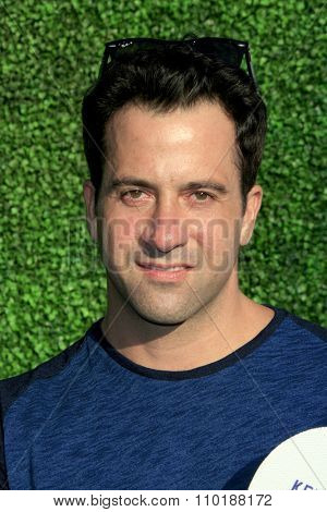 LOS ANGELES - JUL 30:  Troy Garity at the Clayton Kershaw's 3rd Annual Ping Pong 4 Purpose at the Dodger Stadium on July 30, 2015in Los Angeles, CA