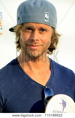 LOS ANGELES - JUL 30:  Eric Christian Olsen at the Clayton Kershaw's 3rd Annual Ping Pong 4 Purpose at the Dodger Stadium on July 30, 2015in Los Angeles, CA