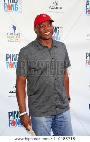 LOS ANGELES - JUL 30:  Doc Rivers at the Clayton Kershaw's 3rd Annual Ping Pong 4 Purpose at the Dodger Stadium on July 30, 2015in Los Angeles, CA