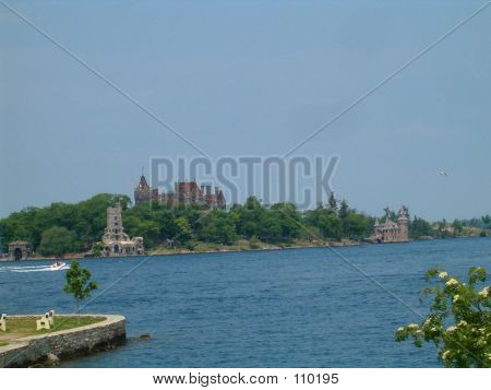 Boldt Castle In The Daytime