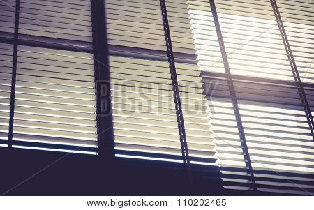 Blind Window Curtain With Sun light shade