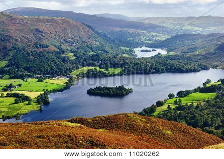 Grasmere From Silver Howe