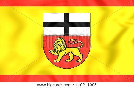 Flag Of Bonn (north Rhine-westphalia), Germany.