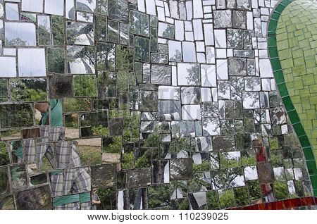 Mirrors And Mosaics In Artwork