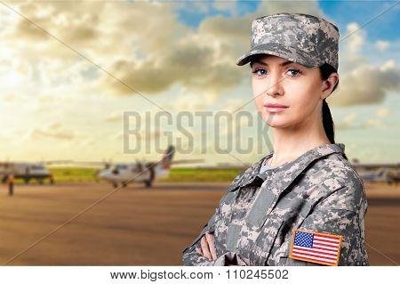 Military Female.